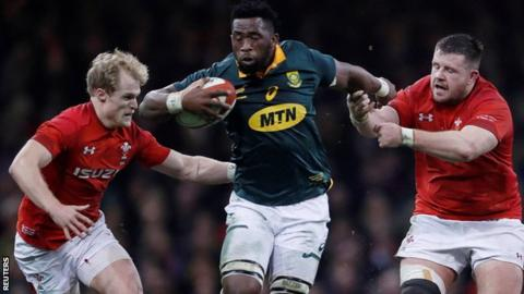 South Africa v England: Siya Kolisi - the Springboks captain uniting a country