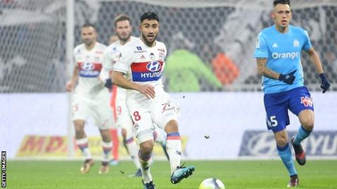 Nabil Fekir: Liverpool target staying at Lyon, say Ligue 1 club