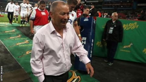 England coach Eddie Jones plays down confrontation with South Africa fans