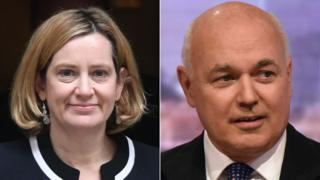 Brexit: Amber Rudd urges rebels to back PM in EU vote