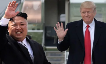 Kim Jong-Un heads to Singapore to meet with Trump