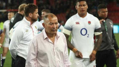 South Africa v England: 2018 a horror show for Eddie Jones' side, says Clive Woodward