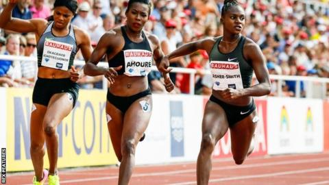 Stockholm Diamond League: Dina Asher-Smith dips under 11 seconds again to win 100m