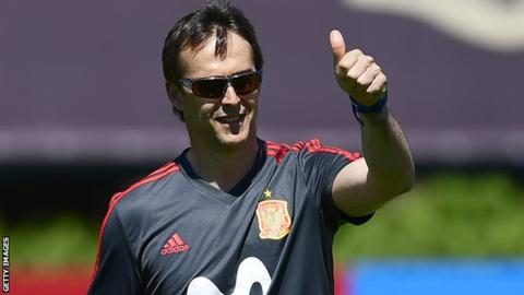 Spain coach to head Real Madrid