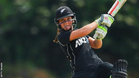 Amelia Kerr: Teenager sets ODI batting world record