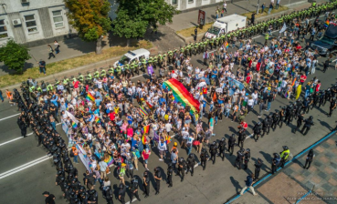 Equality March in Kyiv is over, no serious clashes occurred