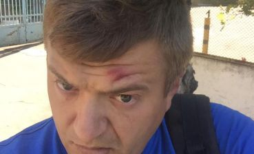 Journalist is beaten up in Kherson region