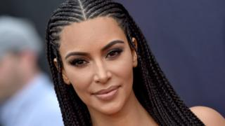 Kim Kardashian defends wearing hair in braids: