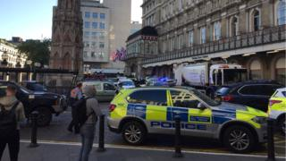 Bomb threat closes London