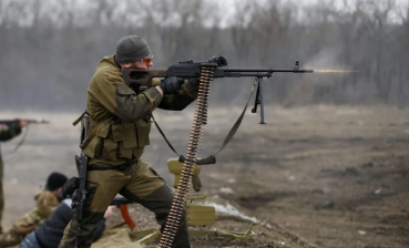 Militants occupy private house and shoot at civilians in Donbas
