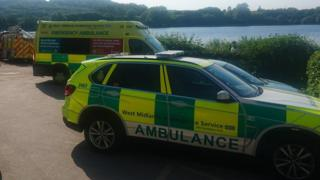 Stoke-on-Trent lake searched for missing child