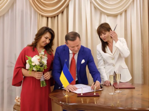 Not a bachelor anymore: Oleh Lyashko, Radical party leader, got married