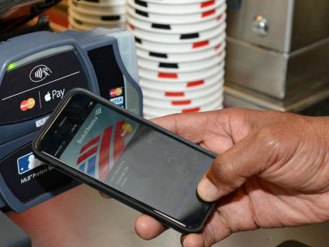 Contactless boom means cash is no longer king