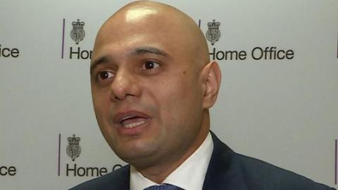 Javid admits issue with EU citizens