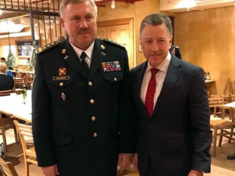 National Guard Commander discusses Donbas situation with Volker