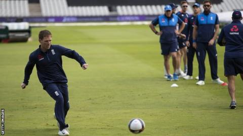 England v India: Eoin Morgan hopes World Cup clash is good omen
