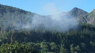 Bethesda wildfire prompts evacuation warning