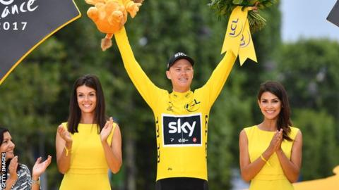 Chris Froome to lead Team Sky at Tour de France after anti-doping case dropped