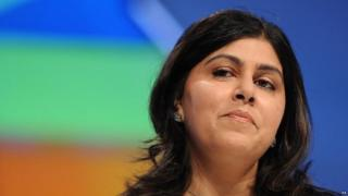 Baroness Warsi urges inquiry into Tory Islamophobia claims
