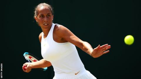 Wimbledon 2018: American 10th seed Madison Keys beaten by Russian qualifier Evgeniya Rodina
