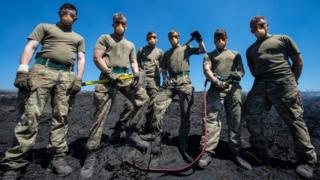 Saddleworth Moor fire: Soldiers stood down from blaze