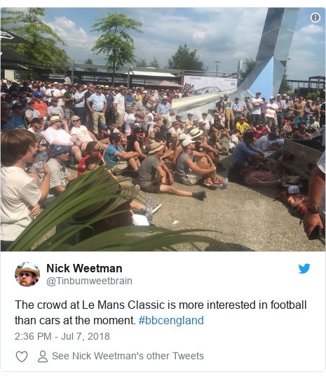World Cup 2018: England fans delight at reaching semi-finals