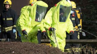 Wiltshire Police officer tested amid Novichok fear