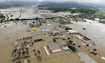 Heavy rains in Japan: death toll climbs to 76