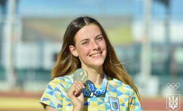 Video of day: Ukrainian athlete wins European Youth Championship setting record