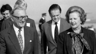 Lord Carrington, former foreign secretary, dies aged 99