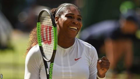 Serena Williams into Wimbledon semi-finals with win over Camila Giorgi