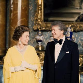 In pictures: Queen's meetings with past US presidents