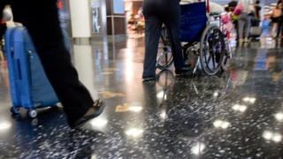 Four airports found to be failing disabled passengers
