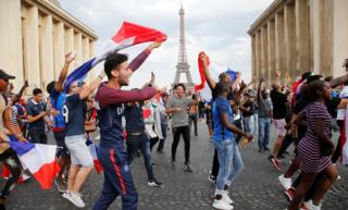 In pictures: France celebrates