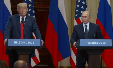 Trump and Putin are giving press conference after meeting in Helsinki, - LIVE