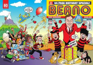 David Walliams 'thrilled' to edit Beano 80th birthday edition