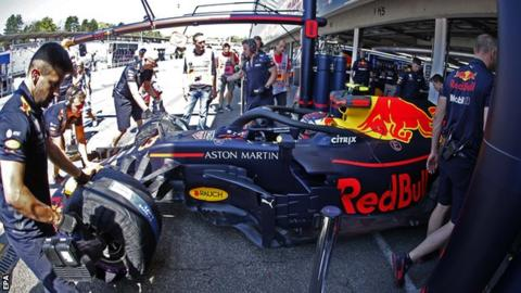 German Grand Prix: Red Bull
