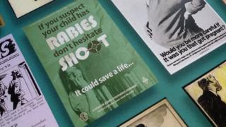 Red faces over rabies poster gaffe