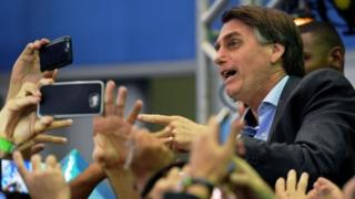 Brazil far-right politician enters presidential race