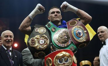Olexandr Usyk overcomes cruiserweight division and going to fight in heavyweight