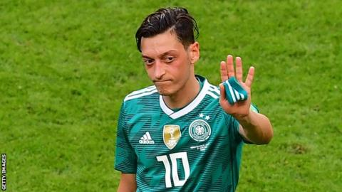 German FA rejects Ozil's racism claim