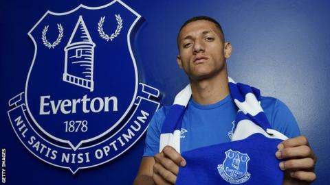 Richarlison: Everton sign Brazilian from Watford for?50m
