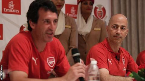 Ivan Gazidis: Arsenal respond to reports linking chief executive with AC Milan