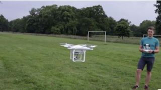 Kids' drone ban plan over safety fears