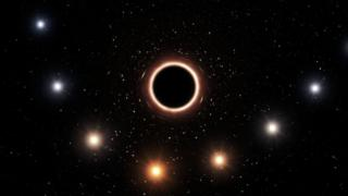 Einstein theory passes black hole test