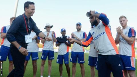 Adil Rashid: England spinner says Michael Vaughan's comments are 'stupid'