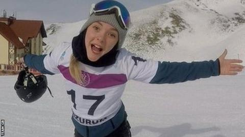 Ellie Soutter: Tributes to British snowboarder who died on her 18th birthday