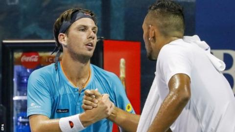 Cameron Norrie into Atlanta semi-finals after Nick Kyrgios retires injured