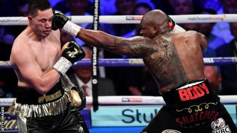 Dillian Whyte beats Joseph Parker in gruelling contest