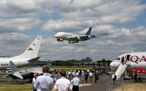 'Farnborough is the shop window for the global aerospace industry'